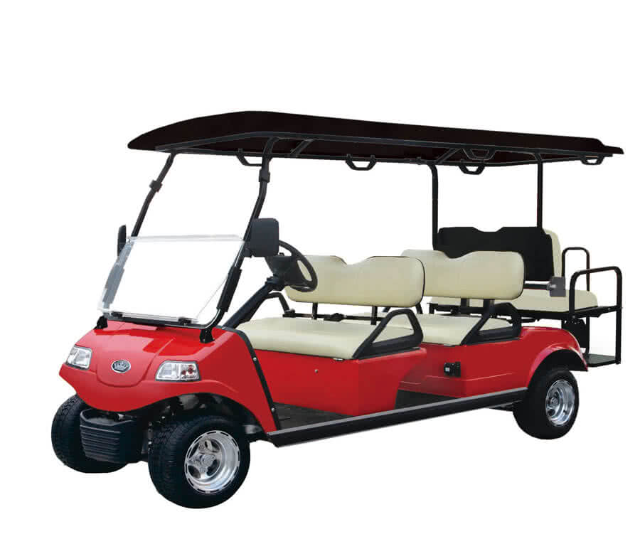 Carrier 6 - Street Legal Golf Cart Carrier